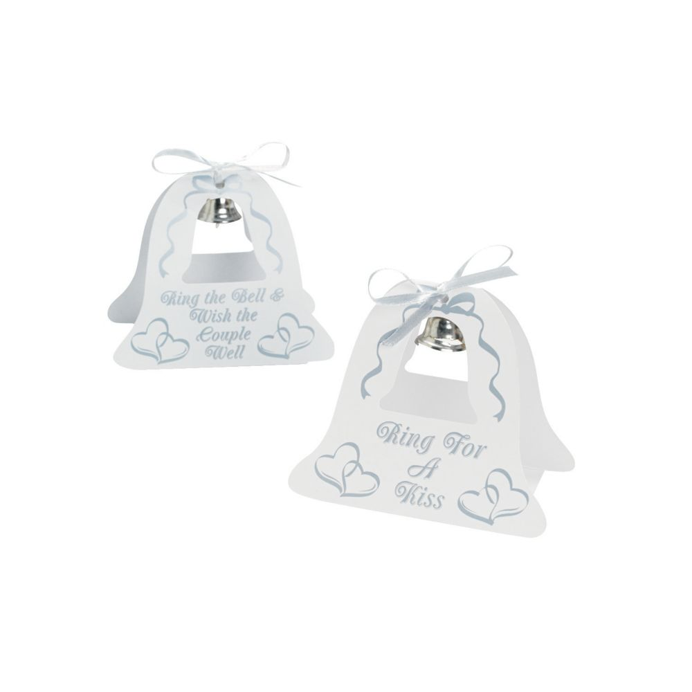 Silver Wedding Bell Tabletoppers - Party Decorations & Centerpieces