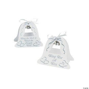Silver Wedding Bell Tabletoppers