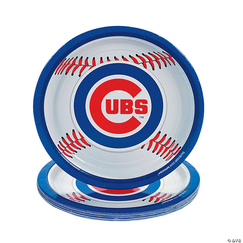 sc 1 st  Oriental Trading & MLB® Chicago Cubs™ Dinner Plates - Discontinued