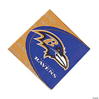 NFL® Baltimore Ravens™ Lunch Napkins