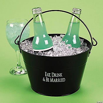 """Eat, Drink & Be Married"" Bucket"