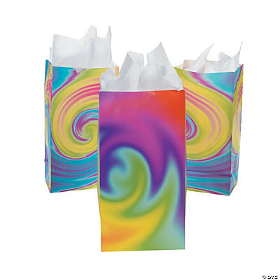 Tie-Dyed Gift Bags