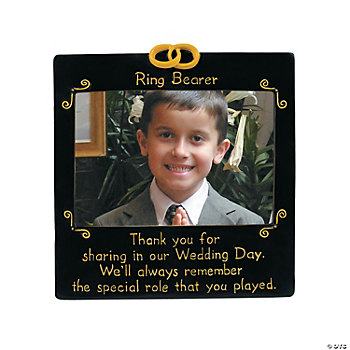 """Ring Bearer"" Photo Frame"