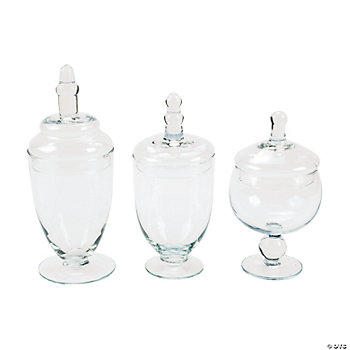 Glass Jar Set