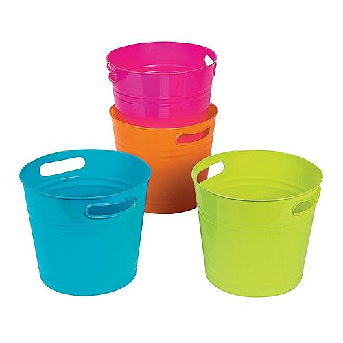Pails, Buckets, and Containers