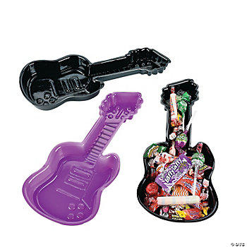 12 Guitar-Shaped Trays