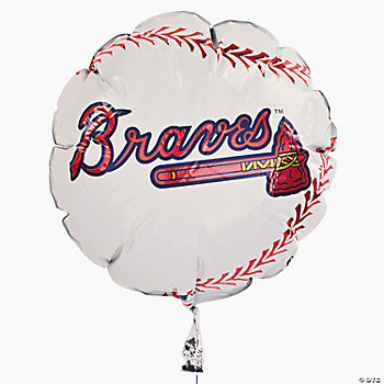 MLB® Atlanta Braves™ Mylar Balloon