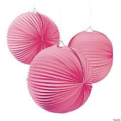 Large Pink Party Lanterns