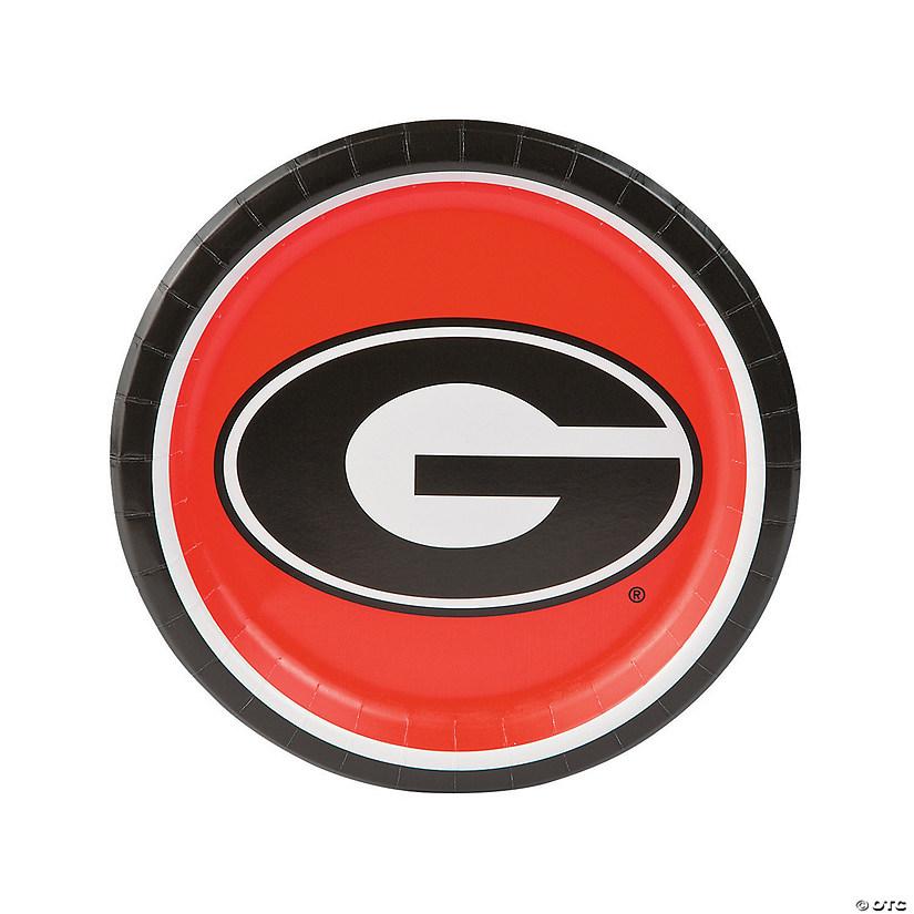 Ncaa Georgia Bulldogs Paper Dinner Plates Discontinued