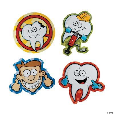 Jumbo Dental Cutouts