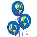 Latex Earth Balloons