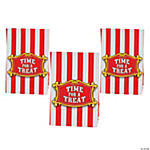 Paper Big Top Mini Treat Bags with Tape