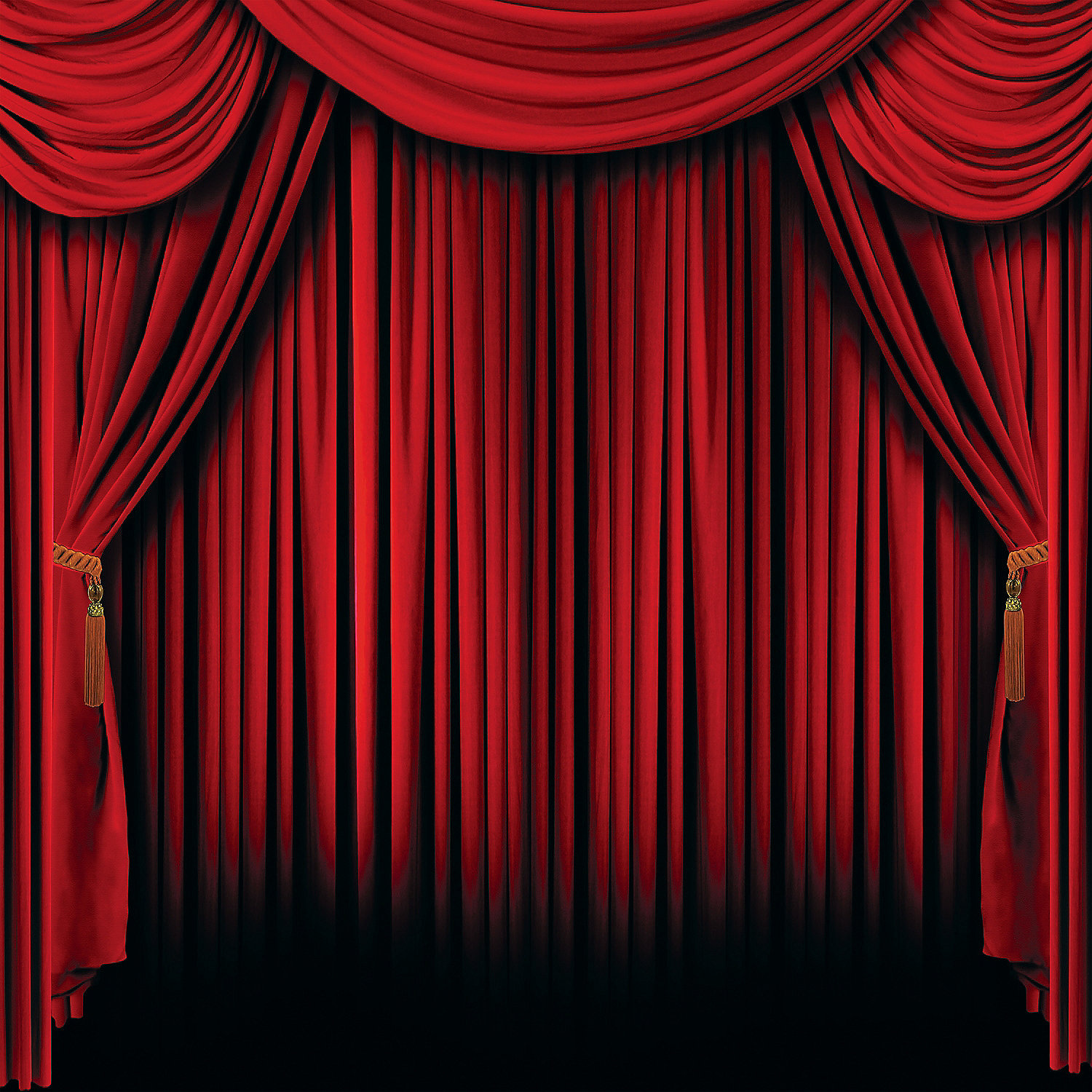 Pics Photos - Red Stage Drapery