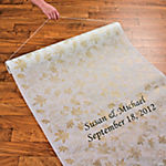Personalized Fall Wedding Aisle Runner