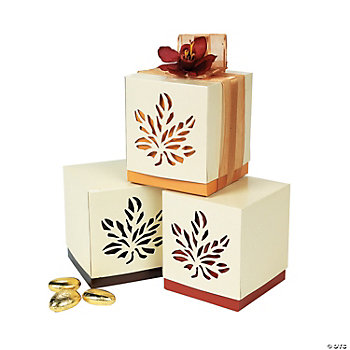 fall wedding favor boxes oriental trading With fall wedding favor boxes