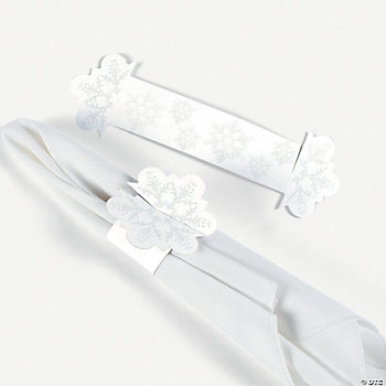 Winter Wedding Napkin Rings