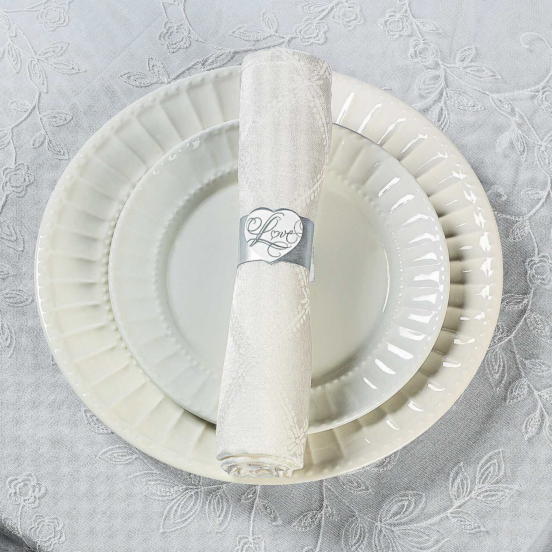 Love Wedding Napkin Rings