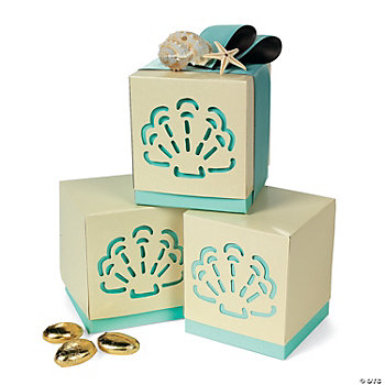 Summer Wedding Favor Boxes