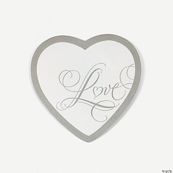 """Love"" Wedding Coasters"