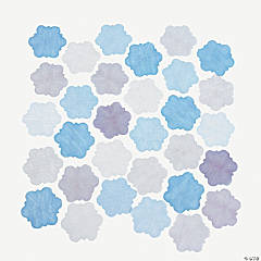 Winter Wedding Fabric Confetti