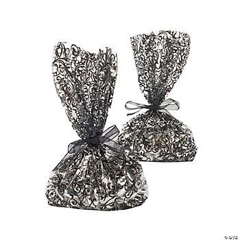 Black And White Wedding Bags