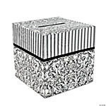 Black & White Wedding Card Box