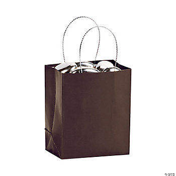 Mini Gift Bags - Brown