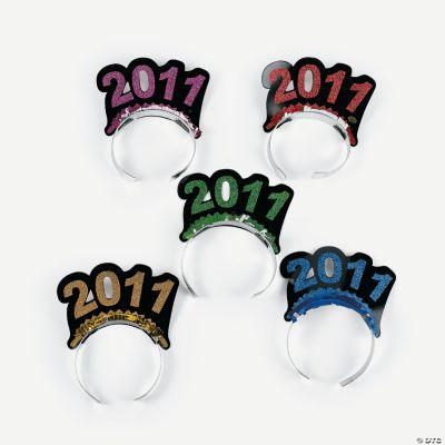 """12 Bright """"2011"""" Tiaras"""