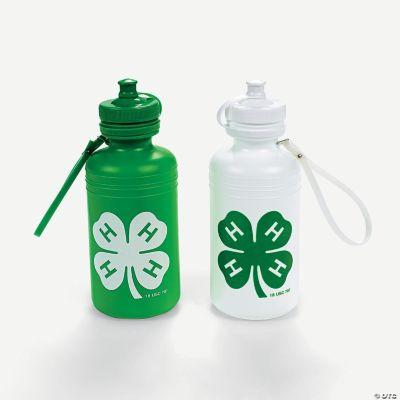 """""""4-H"""" Water Bottles"""