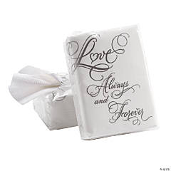 """Love"" Wedding Facial Tissue Packs"