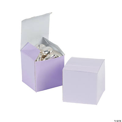 Mini Lilac Gift Boxes