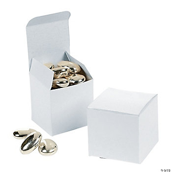 Mini White Gift Boxes