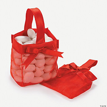 Mini Favor Baskets - Red