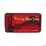 6 Pc. Chinese New Year Disposable Trays