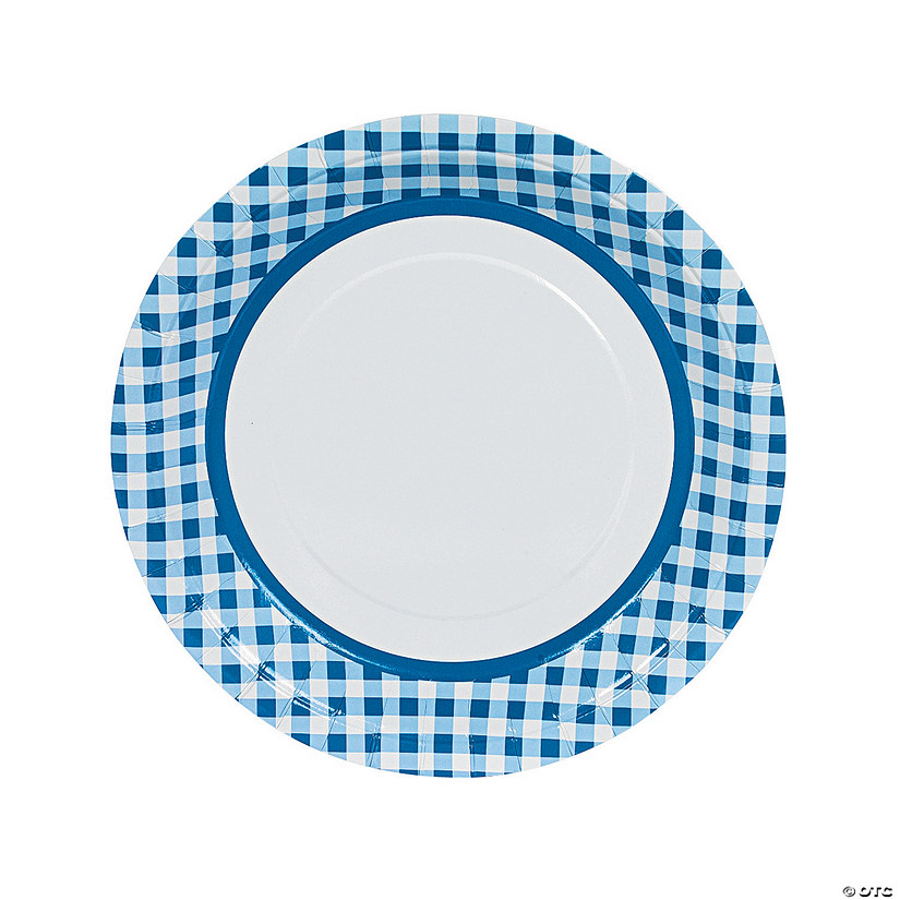 sc 1 st  Oriental Trading : gingham dinnerware - pezcame.com