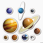 Solar System Window Clings