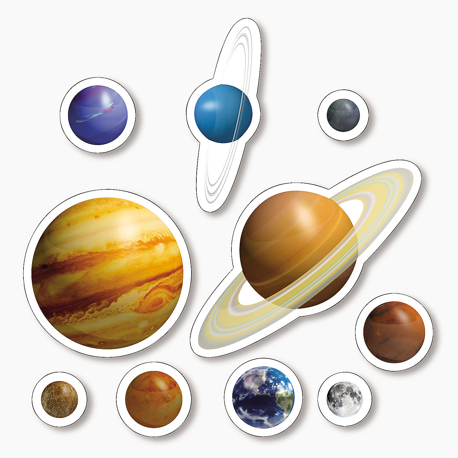 solar system mobile cutouts printable - photo #27