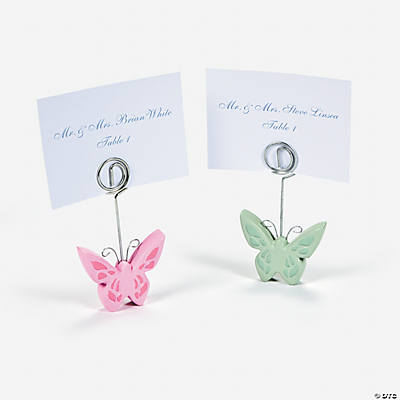 Butterfly Name Card Holders