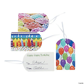 24 Birthday To/From Gift Tags