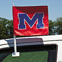 NCAA™ University Of Mississippi Car Flag