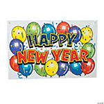 """Happy New Year"" Bright Banner"