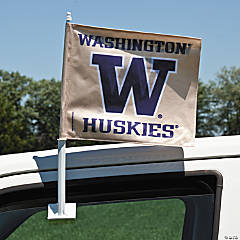 NCAA™ University of Washington Car Flag