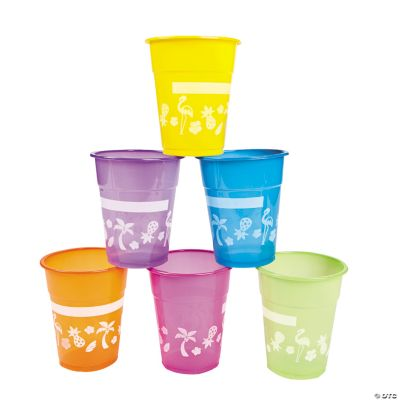Disposable Luau Cups