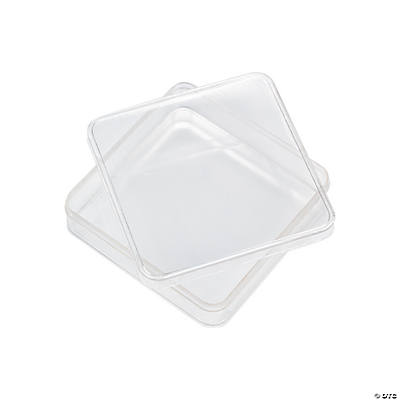 Clear Square Containers
