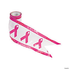 Pink Ribbon Streamers