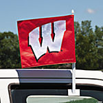 NCAA™ Wisconsin Car Flag