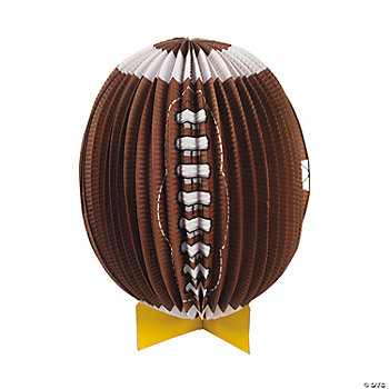 Football Lantern Centerpiece