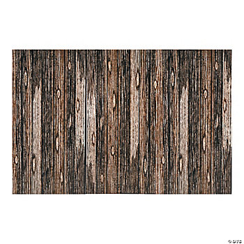 Wood Plank Backdrop Banner