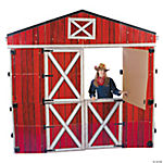 Large 3D Red Barn Stand-Up