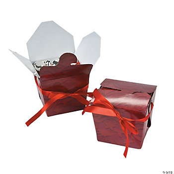 Red On Red Takeout Boxes